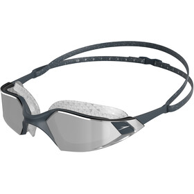 speedo Aquapulse Pro Mirror Occhialini da nuoto, oxid grey/silver/chrome